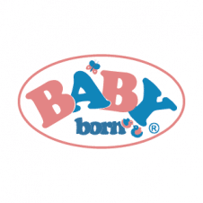 Baby Born Vector Logo images