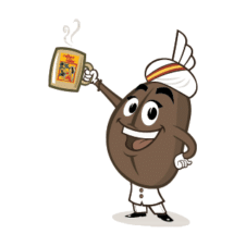 Coffe Swami - Indian Coffe Board Logo Vector images