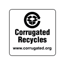 Corrugated Recycles Logo Vector images