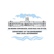 Department of the Environment and Local Government Logo Vector images