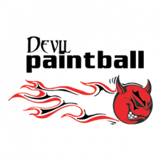 Devil Paintball Vector Logo images