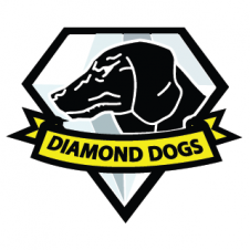 Diamond dog (mgs) Vector Logo images