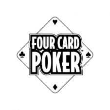 Four Card Poker Vector Logos images