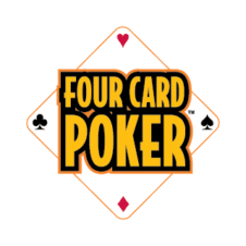 Four Card Poker Vector Logo images