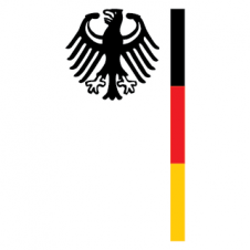 Germany embassy eagle Vector Logo images