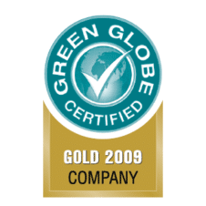 Green Globe GOLD 2009 COMPANY Logo Vector images