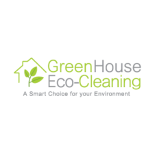 GreenHouse Eco-Cleaning Logo Vector images