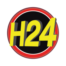 H24 Logo Vector images