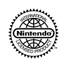 Nintendo International Licensed Product Vector Logo images