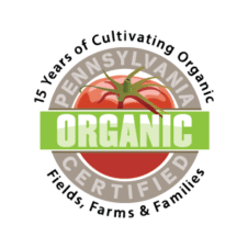 Pennsylvania Certified Organic Logo Vector images