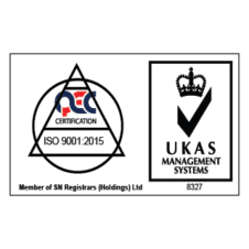 QEC UKAS ISO 9001 - 2015 MANAGEMENT SYSTEM Vector Logo images