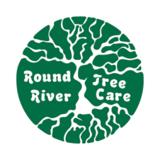 Round River Tree Care Logo Vector images