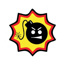 Serious Sam BombVector Logo images