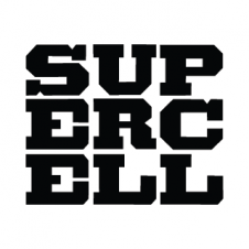 Supercell Logo Vector images