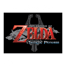 The Legend of Zelda Twilight Princess Logo Vectors images