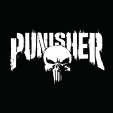 The Punisher Vector Logo Design images