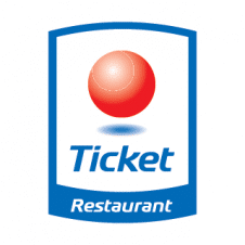 Ticket Restaurant Vector Logo images
