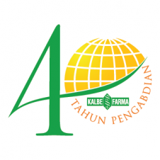 40 th Kalbe Farma Vector Logo images
