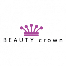 Beauty Queen Crown Logo Vector images