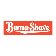 Burma Shave Vector Logo images