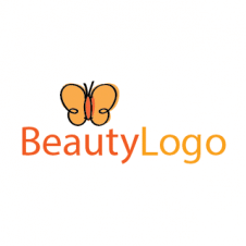 Butterfly Beauty Logo Vector images
