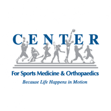 Center for Sports Medicine and Orthopaedics Vector Logo images