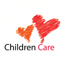 Children Care Center Logo Vector images