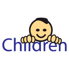 Children Logo Vector Design images