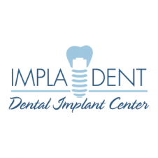 Clinica dental Impladent Vector Logo images