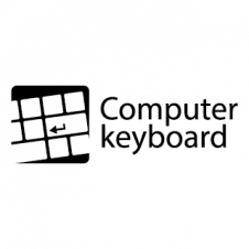 Computer Keyboard Vector Logo images