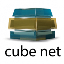 Cube Net Logo Vector images