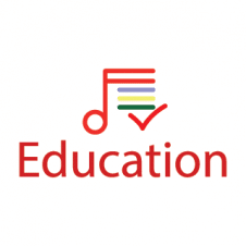 Education Music Vector Logo Design images