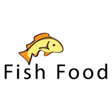 Fish Food Logo Vector images