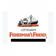 Fisherman's Friend Vector Logo images