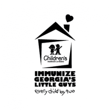 Immunize Georgia's Little Guys Vector Logo images