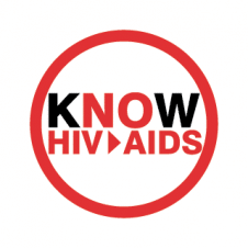 Know HIV Aids Vector Logo images