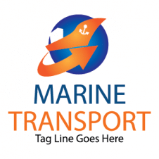Marien transport Vector Logo images