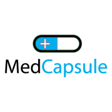 Med Capsules Logo Vector images