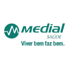 Medial Saude Vector Logo images