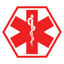 Medical Alert Symbol Vector Logo images