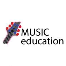 Music Education Logo Vector images