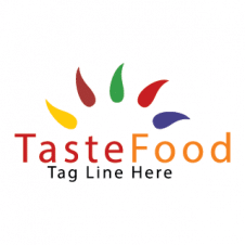Taste Food Vector Logo images