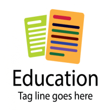 The Education Vector Logo Design images