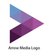 Arrow Media Logo Vector images