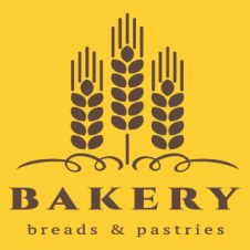 Bakery Breads Pastries Logo Vector images