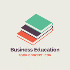 Business Education Logo Vector images