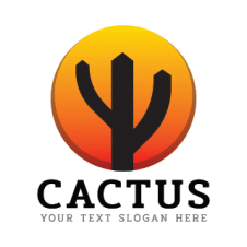 Cactus Logo Vector images