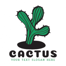 Cactus Logo Vector Design Download Free images