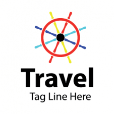 Car Travels Logo Vector images