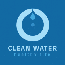 Clean Water Healthy Life Logo Vector images